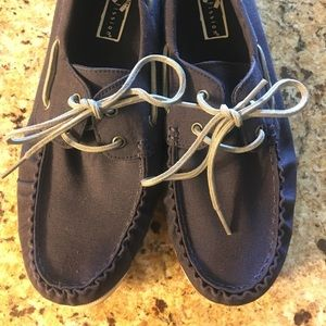 Other - Navy boat shoes-men's